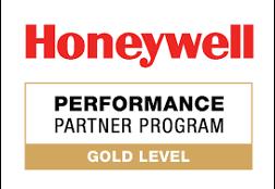 Honeywell - PERFORMANCE PARTNER PROGRAM - GOLD LEVEL