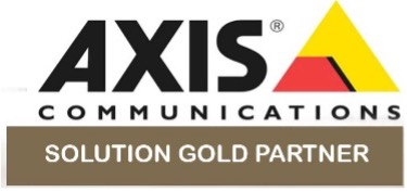 AXIS COMMUNICATIONS - SOLUTION GOLD PARTNER